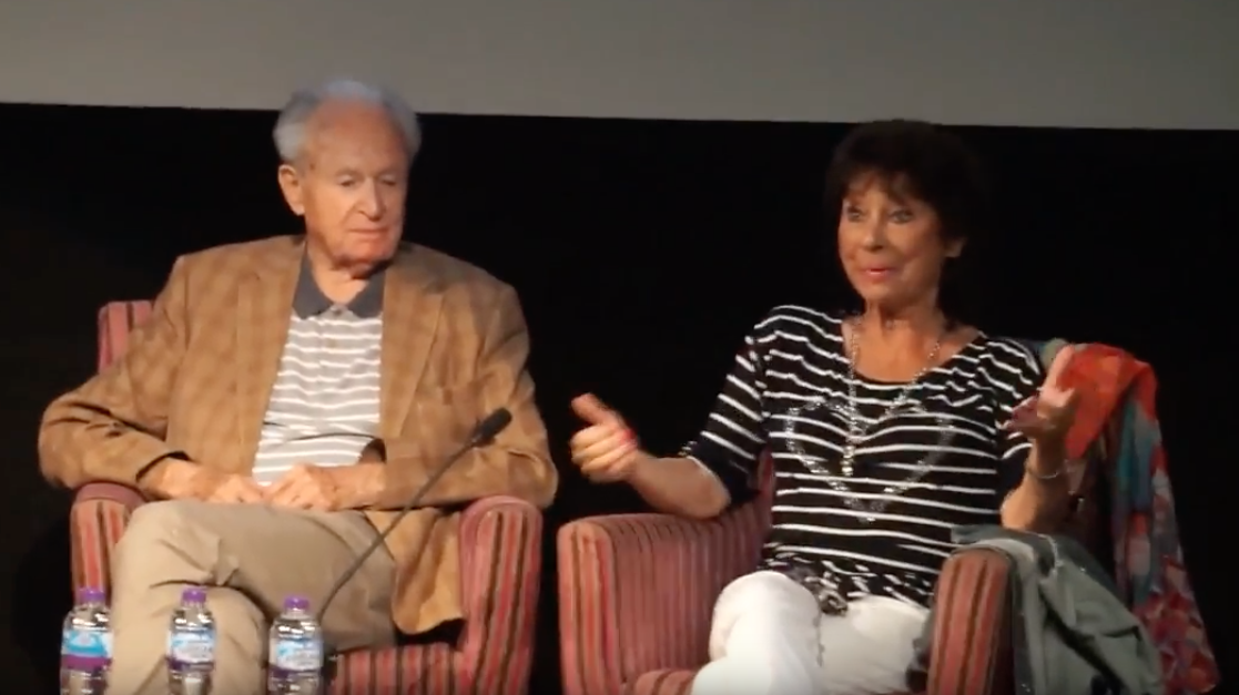 William Russell and Carole Ann Ford at Whooverville 9