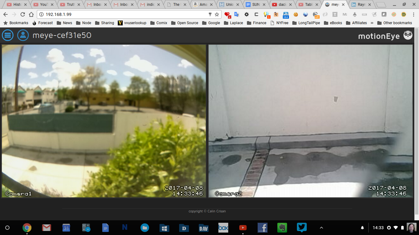 Build your own security camera system with Raspberry Pi and
