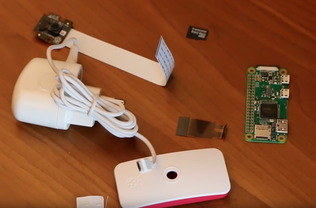 Build a security camera system with Raspberry Pi Zero and cheap webcams