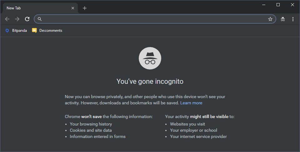 Chrome Incognito Mode hides your identity, or does it?