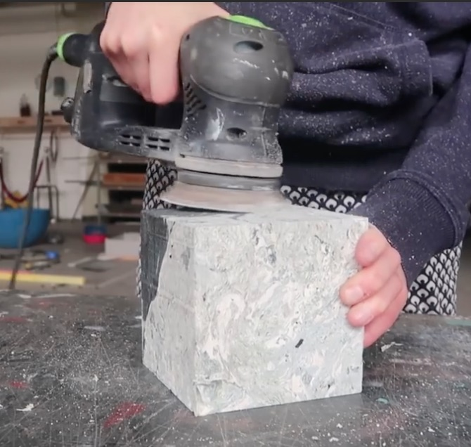 How To Recycle HDPE Plastic Bags To Make Marble-like Raw